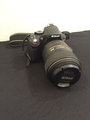 Nikon D5200 with 2 lenses & Accessories for Sale in Dallas, TX