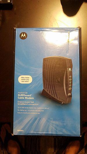 Motorola Surfboard Cable Modem for Sale in Alafaya, FL