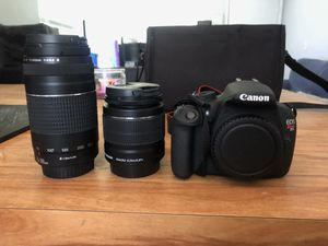 Canon EOS Rebel T5 Camera for Sale in New Port Richey, FL