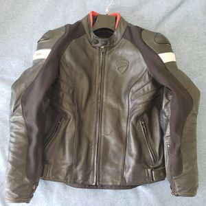 Dainese Ducati leather jacket Size 48 for Sale in Southfield, MI