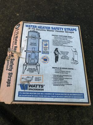 Water heater safety straps new for Sale in Portland, OR
