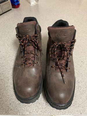 Big Mac Steel Toed Men's Work Boots - Size 11 for Sale in Tampa, FL