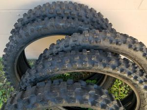 Miscellaneous dirt bike tires for Sale in Tampa, FL