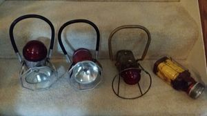 Four Antique Railroad Lanterns for Sale in Warrenton, VA