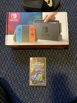 Brand New Nintendo Switch with Brand New Megaman 11 for Sale in Chino, CA