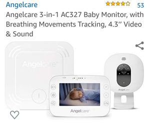 Angelcare breathing monitor in video for Sale in Hagerstown, MD