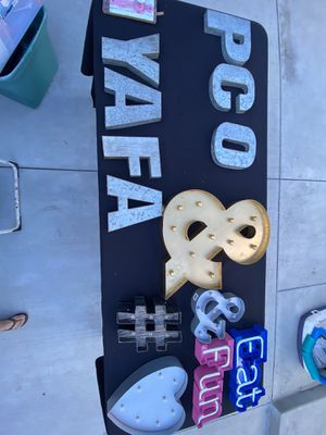 Metal Letters for Sale in Santa Fe Springs, CA