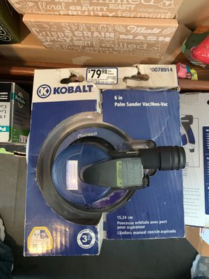 "Kobalt Air Palm Sander 6"" Sander NEW for Sale in Pembroke, MA"