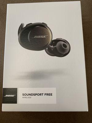 Bose Soundsport Free Wireless Headphones for Sale in Manassas, VA