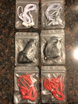 6 Pack Sealed Earbuds for Sale in York,  PA