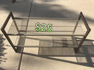 Small Metal Shelf/Shoe Shelf for Sale in Rancho Cucamonga, CA