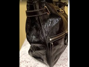 "Vintage ""Cole Haan "" black shoulder bag . Gently used , it is almost new. Original price$400 for Sale in Houston, TX"