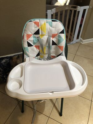 High Chair/ Booster Seat/ travel/space saver for Sale in Grapevine, TX