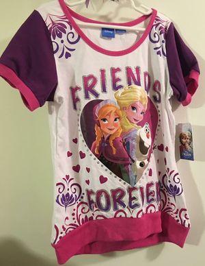 Girls Frozen Jogger Set NWT Elsa Anna 10/12 Large for Sale in Corpus Christi, TX