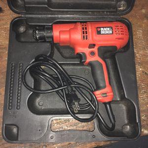 Black & Decker Corded Drill for Sale in Nashville, TN