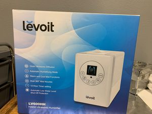 Levoit hybrid humidifier with thermostat for Sale in Bedford, TX