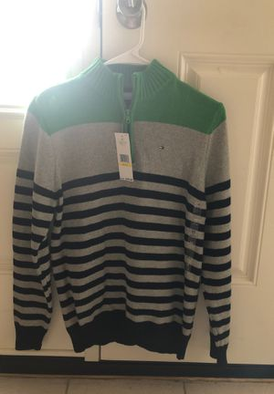 Boys sweater Medium size 12-14 Tommy Hilfiger. Brand new never worn for Sale in Trumbull, CT