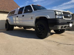 22.5 Dually wheels / tires Chevy dodge w/adapters for Sale in San Diego, CA