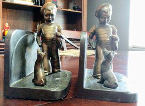 Antique BOOKENDS, SAILOR BOY AND DOG for Sale in Surprise, AZ