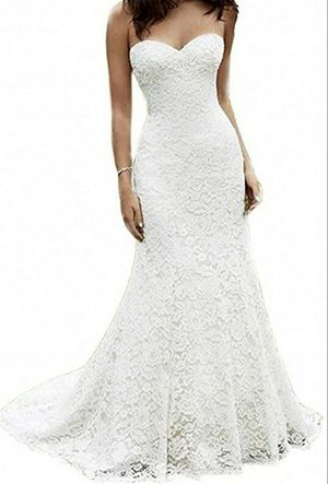 Brand New, Never Worn lace wedding dress for Sale in Loganville, GA
