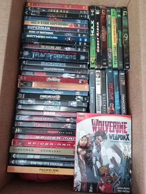 Over 40 DVD's of great titles for Sale in Santee, CA