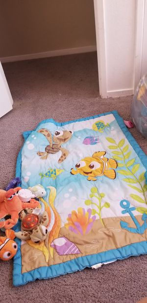 Finding Nemo crib set And more for Sale in Fresno, CA