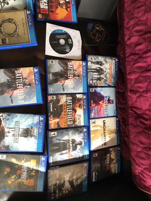 Video game lot ps4 for Sale in Fall River, MA