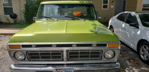 1977 Ford F100 custom short bed ((((((project truck))) new tires and clear blue Texas Title for Sale in San Antonio, TX