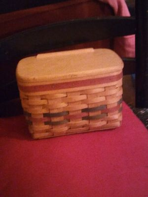 """Longaberger"" recipie box. for Sale in Las Vegas, NV"