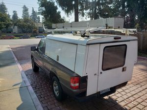 Camper Shell for 7ft Bed with Ladder Rack for Sale in Sunnyvale, CA