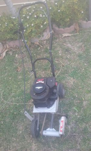 Craftsman Garden edger price is firm no lowballers please no trades for Sale in Fontana, CA