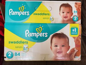 Size 2 Pampers Swaddlers for Sale in Sultan, WA