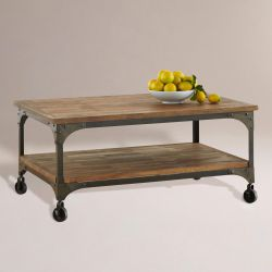 Industrial Rustic Farmhouse Coffee Table for Sale in Milwaukie,  OR