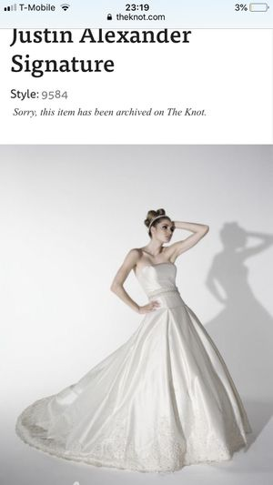 Justin Alexander Couture Wedding Dress for Sale in Pittsburgh, PA