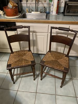 Antique Hitchcock chairs for Sale in Alexandria, VA
