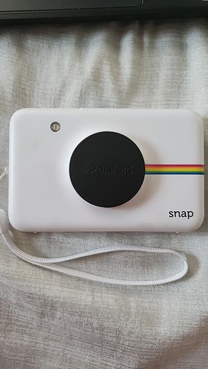 Polaroid Snap Instant Digital Camera, White for Sale in Lock Haven, PA
