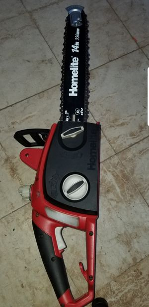 """Homelite electric CHAINSAW 14"""" for Sale in Covina, CA"""