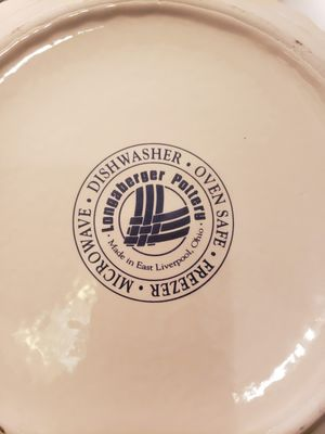 Longaberger Pie Pan for Sale in Greenville, SC