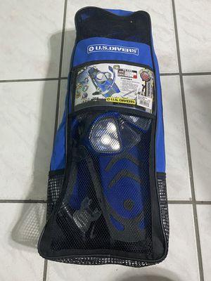 Snorkel Set. US DIVERS. Mask, Snorkel, Fins, and Travel Bag. for Sale in Miami, FL