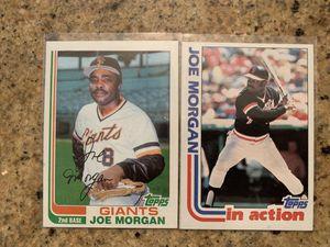 Joe Morgan baseball cards for Sale in Upland, CA