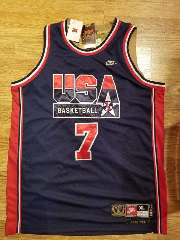 sports shoes 3095c 44b62 Larry Bird USA Dream Team Jersey for Sale in Chelmsford, MA - OfferUp