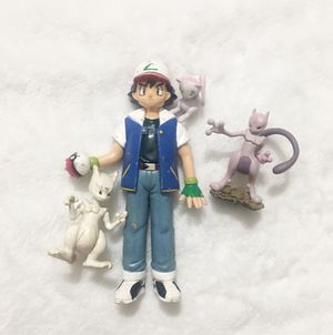 Pokémon Ash and Mew/Mewtwo Action Figure for Sale in Hacienda Heights, CA