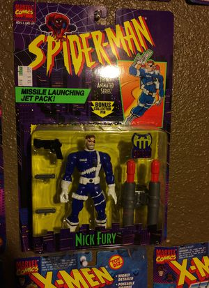 Spider-Man Action Figure nick fury for Sale in Commerce, CA
