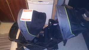 Double stroller brand new never been used for Sale in Tacoma, WA