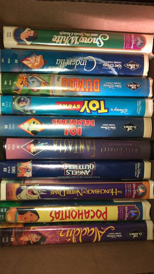 Walt Disney VHS Tapes for Sale in Burleson, TX