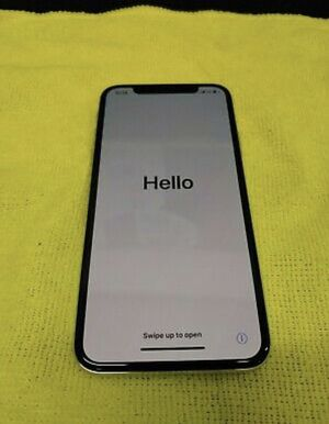 Apple iPHONE X 64 GB -Silver (A1865) for Sale in Bell, CA