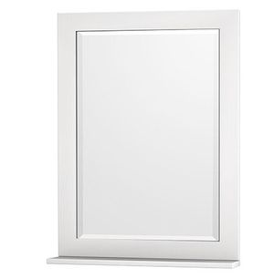 Wall mirror white 24x33 for Sale in Los Angeles, CA