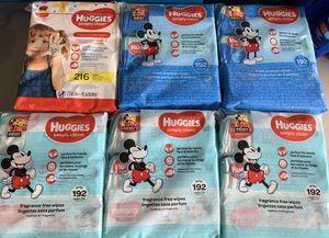 Huggies baby wipes 3 packs for Sale in Lehigh Acres, FL