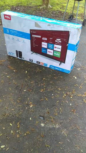"-New 40"" In. TCL Roku Smart TV- for Sale in Forest Park, GA"