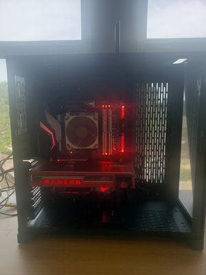 Custom Mid Tier Gaming Computer for Fps, MMORPG, and streaming with AMD processor AMD GPU for Sale in Canyon Lake, TX